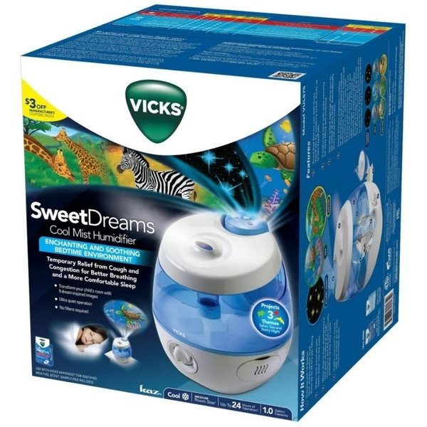 View larger image of Sweet Dreams Cool Mist Ultrasonic Humidifier