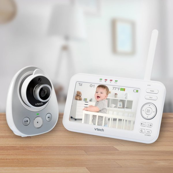 "View larger image of 5"" Digital Video Baby Monitor - Wide Angle Lens - 2 Cameras"