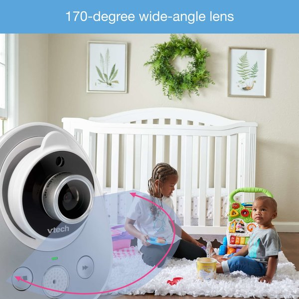 """View larger image of 5"""" Digital Video Baby Monitor - Wide Angle Lens"""