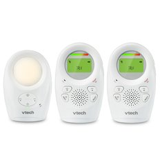 DECT 6.0 Digital Audio Baby Monitor - 2 Parent Units