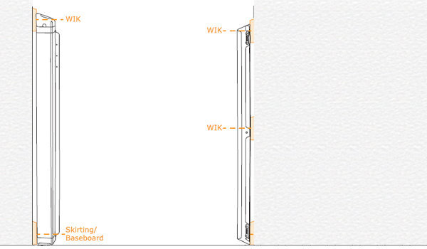 View larger image of Kiddyguard Wall Installation Kit - White