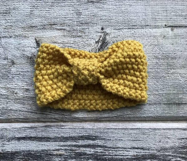 View larger image of Warm Headband - Yellow