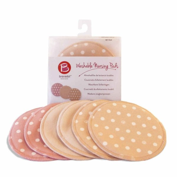 View larger image of Washable Nursing Pads - 3 Pack