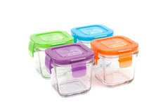 Wean Cubes Food Storage - 4 Pack - 4 oz