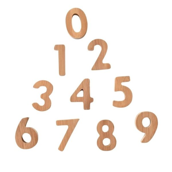 View larger image of Bamboo Numbers Set