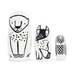 Nesting Dolls - Forest Friends