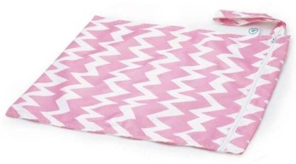 View larger image of Wet/Dry Bag - Pink Chevrons
