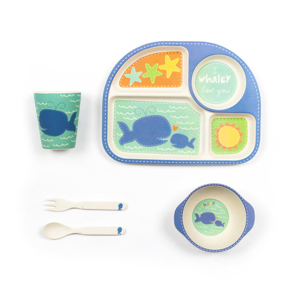 View larger image of Whale Dinner Set