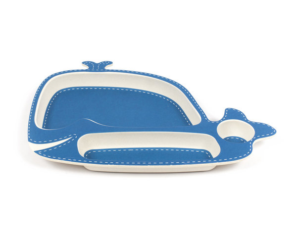 View larger image of Whale Plate - 2 Pack