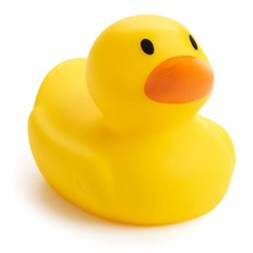 White Hot Bath Ducky