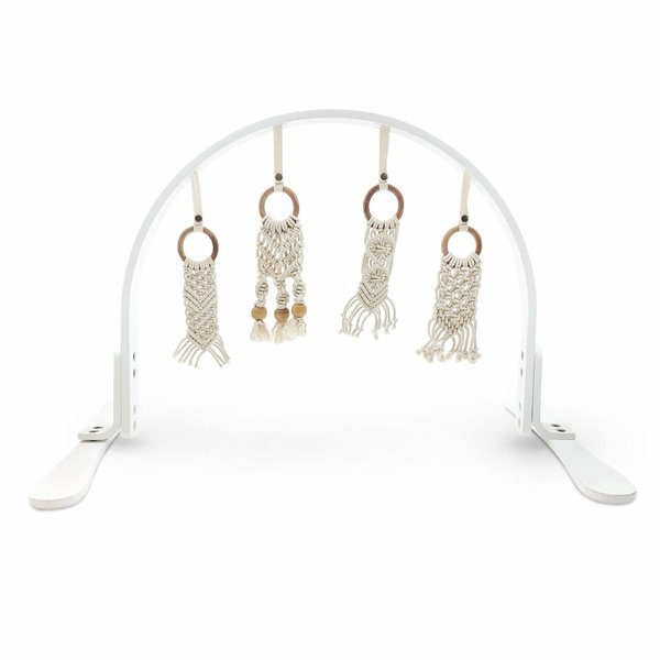 View larger image of White Macrame Play Gym