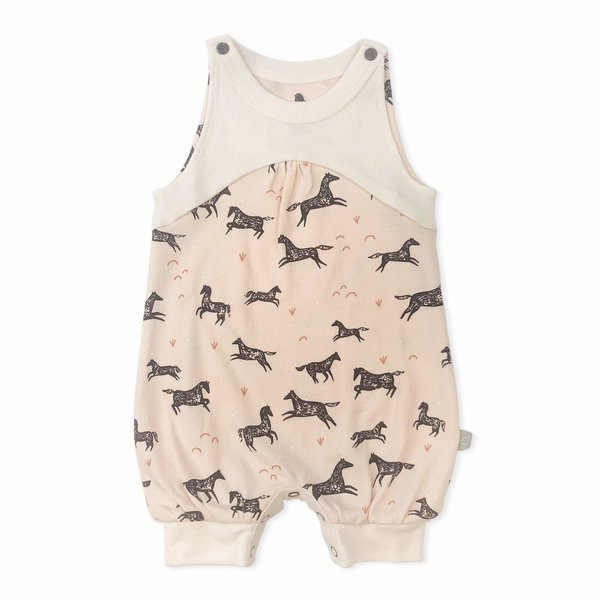 View larger image of Wild Horses Romper 6-9m
