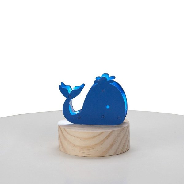 View larger image of Wood Whale Night Light