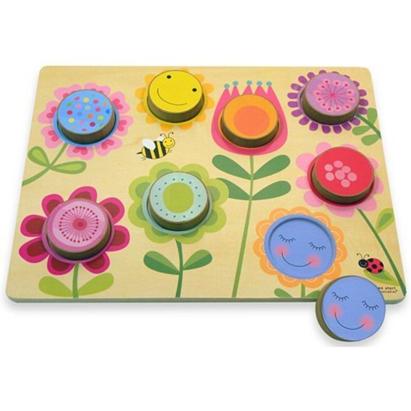 View larger image of Wooden Puzzles - Circle Garden