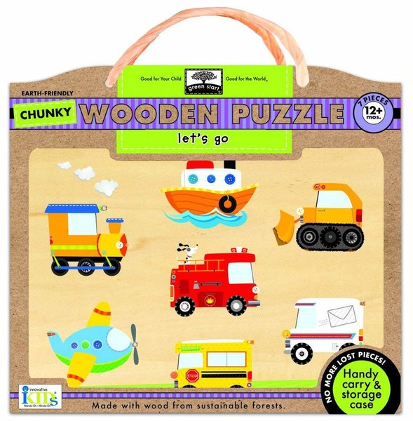 View larger image of Wooden Puzzles - Let's Go