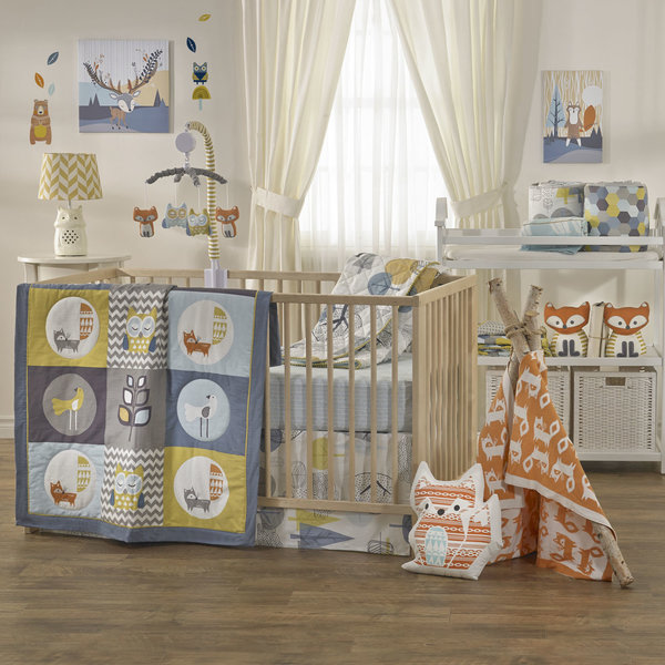 View larger image of 4-Piece Crib Set Woods