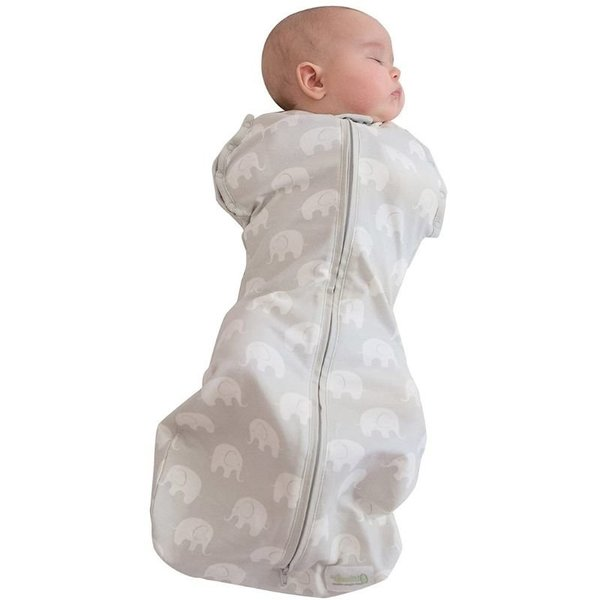 View larger image of Original Swaddle - Grey Elephant