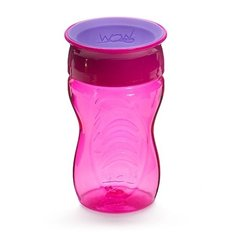 Tritan Spill-Free Wow Cup with Lid 9oz - Pink