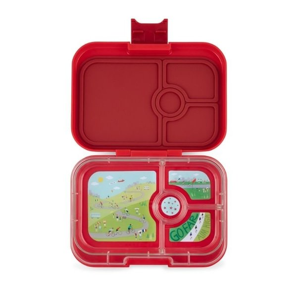 View larger image of MiniSnack 3 Compartment Snack Box