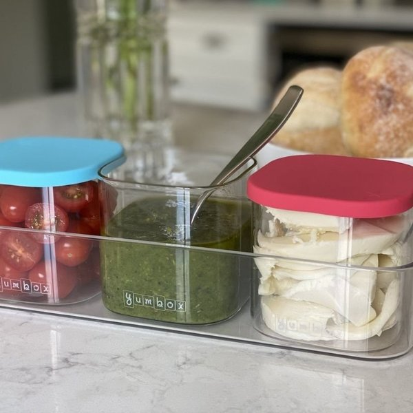 View larger image of Rectangle Glass Container