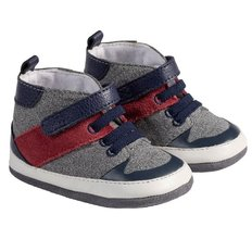 Zachary High Top Shoes - Navy