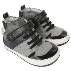 Zachary High Top Shoes - Black