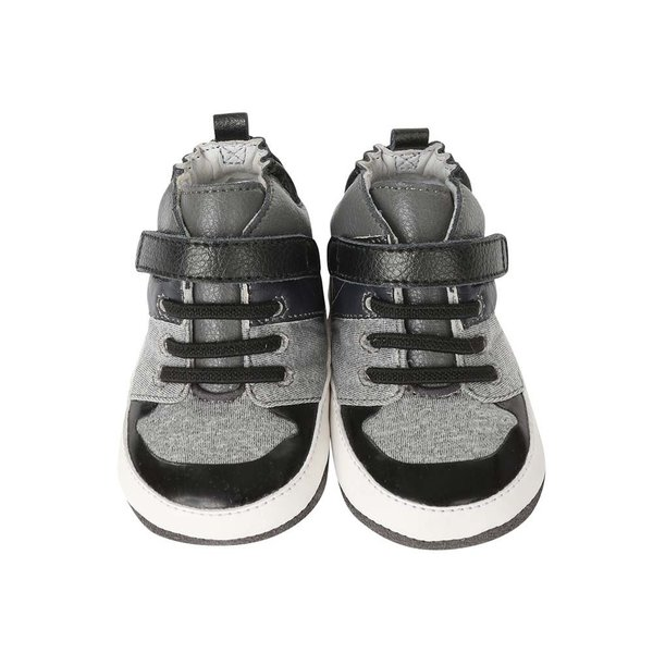 View larger image of Zachary High Top Shoes - Black