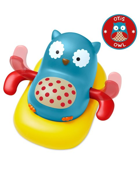 View larger image of Zoo Paddle & Go Owl Bath Toy