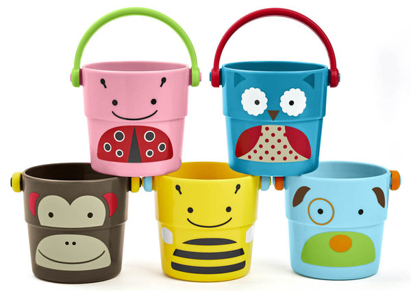 View larger image of Zoo Stack & Pour Buckets