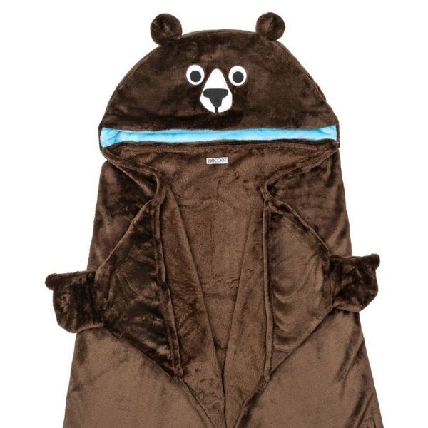 View larger image of Animal Hooded Blanket