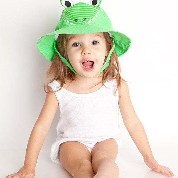 View larger image of UPF 50+ Sun Hat - Alligator