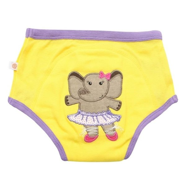 View larger image of Organic Cotton Potty Training Pant Set - Girls - 3 Pack
