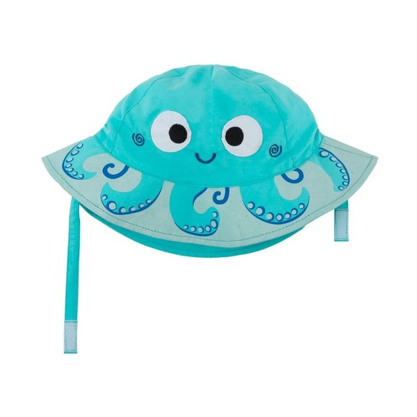 View larger image of UPF 50+ Sun Hat - Octopus