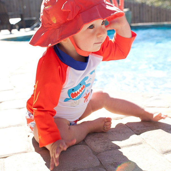 View larger image of UPF 50+ Baby Rashguard Swim Suit