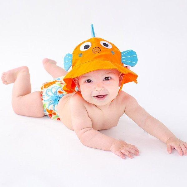 View larger image of Swim Diaper & Sun Hat Sets